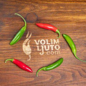 Serrano - svježe chili papričice 14