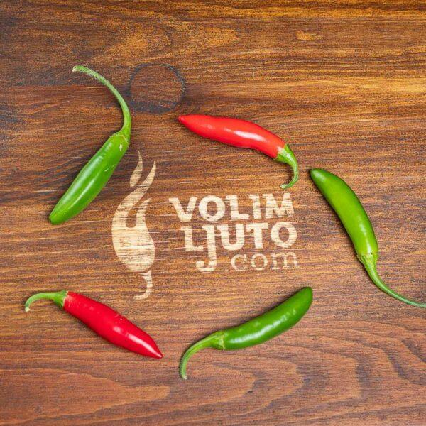 Serrano - svježe chili papričice 8