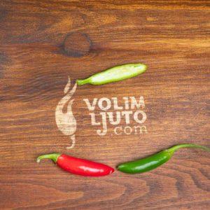 Serrano - svježe chili papričice 15