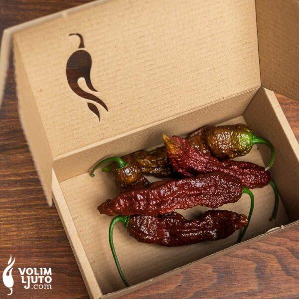 Bhut Jolokia Chocolate - svježe chili papričice 3
