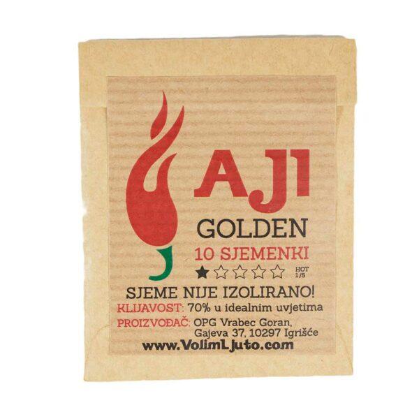 Aji Golden - Sjemenke chili papričica 4