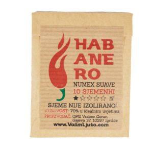 Habanero Numex Suave - Sjemenke chili papričica 5