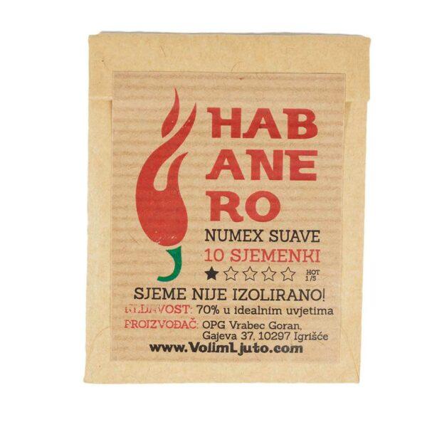 Habanero Numex Suave - Sjemenke chili papričica 4