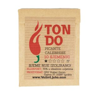 Tondo Picante Calabrese - Sjemenke chili papričica 5