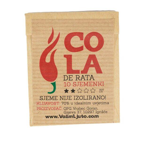 Cola de Rata - Sjemenke chili papričica 4