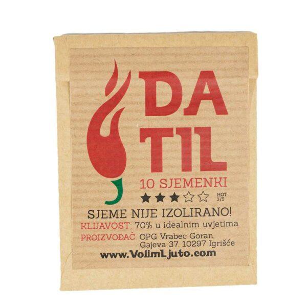 Datil - Sjemenke chili papričica 4