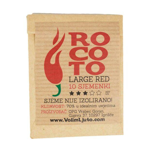 Large Red Rocoto - Sjemenke chili papričica 4