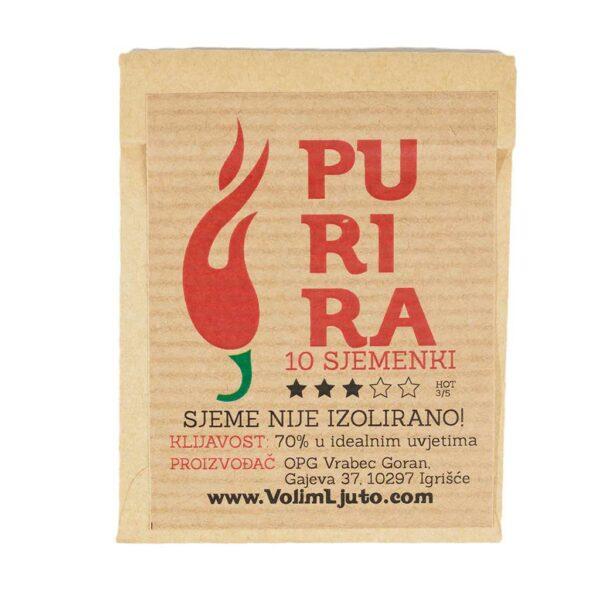 Purira - Sjemenke chili papričica 4