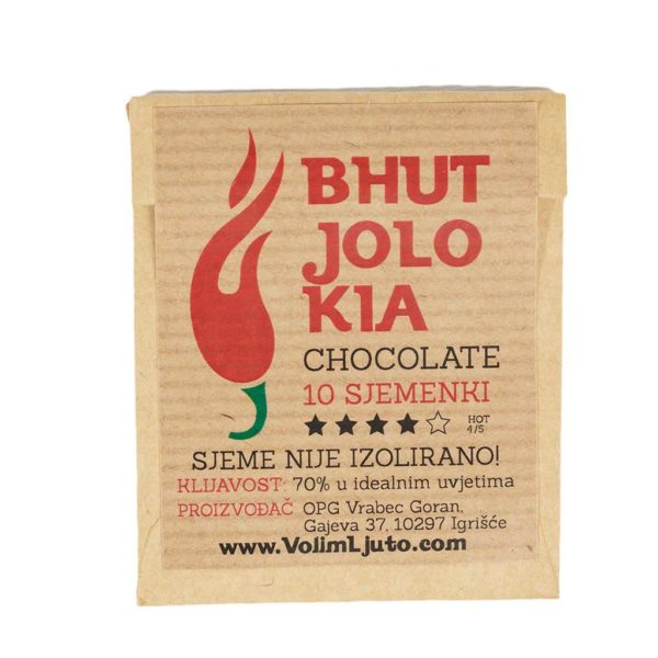 Bhut Jolokia Chocolate - Sjemenke chili papričica 4
