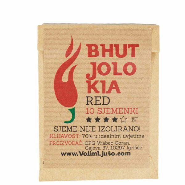 Bhut Jolokia Red - Sjemenke chili papričica 4