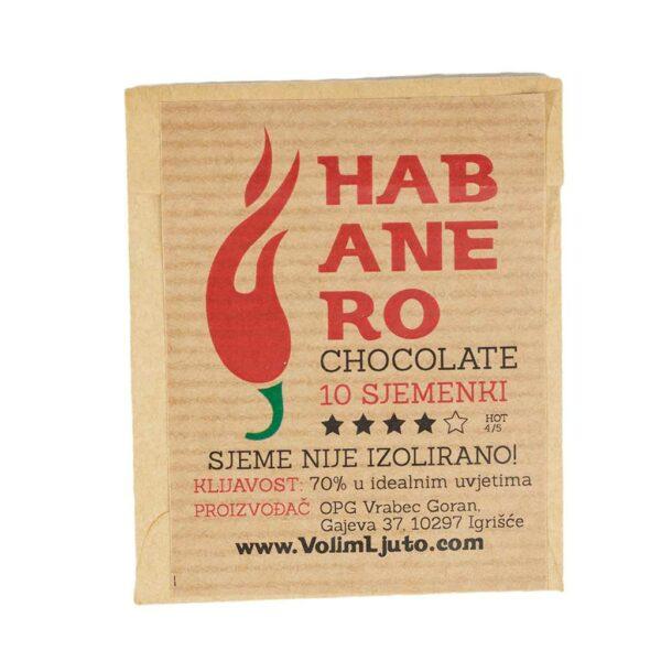 Habanero Chocolate - Sjemenke chili papričica 4