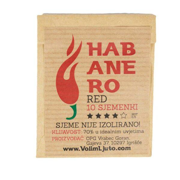 Habanero Red - Sjemenke chili papričica 7
