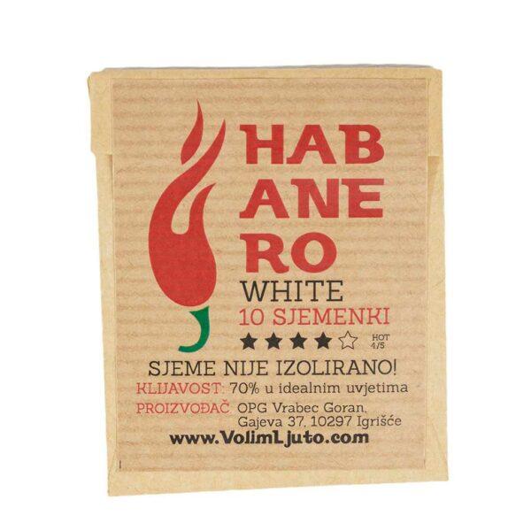 Habanero White - Sjemenke chili papričica 4