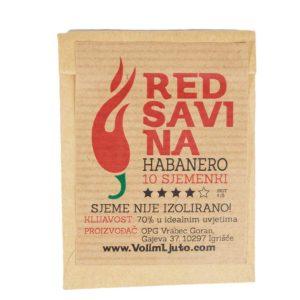 Red Savina Habanero - Sjemenke chili papričica 5