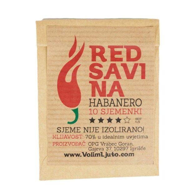 Red Savina Habanero - Sjemenke chili papričica 4