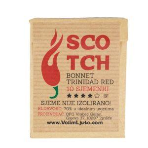 Scotch Bonnet Trinidad Red - Sjemenke chili papričica 5
