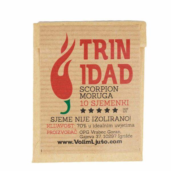 Trinidad Scorpion Moruga - Sjemenke chili papričica 6