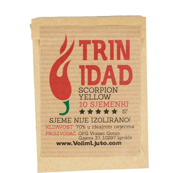 Trinidad Scorpion Yellow - Sjemenke chili papričica 4