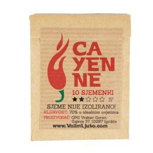 Cayenne - Sjemenke chili papričica 4