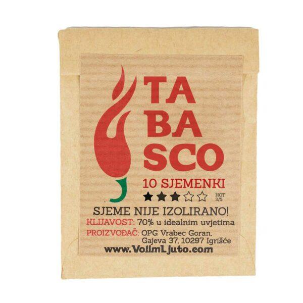 Tabasco - Sjemenke chili papričica 4