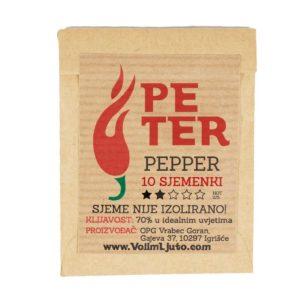 Peter Pepper - Sjemenke chili papričica 4