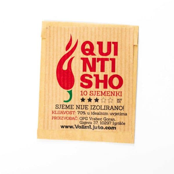 Quintisho - Sjemenke chili papričica 5