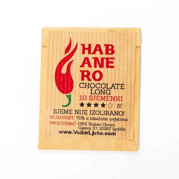Habanero Chocolate Long - Sjemenke chili papričica 3