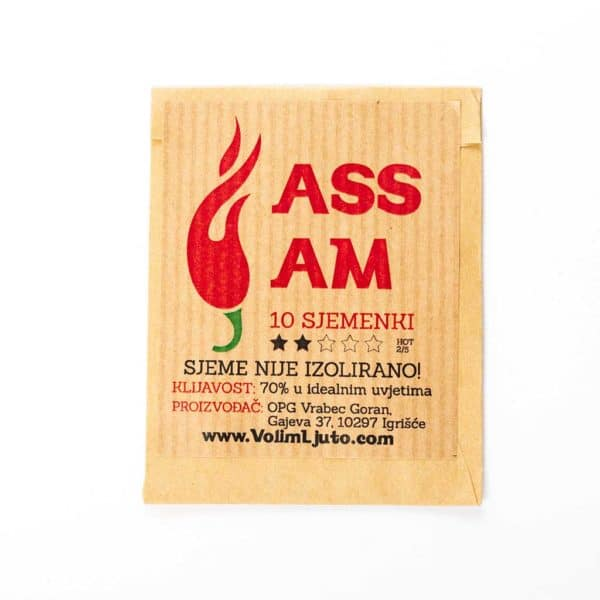 Assam - Sjemenke chili papričica 4
