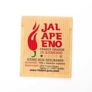 Jalapeno Craig's Grande - Sjemenke chili papričica 7
