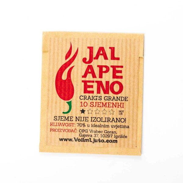 Jalapeno Craig's Grande - Sjemenke chili papričica 5