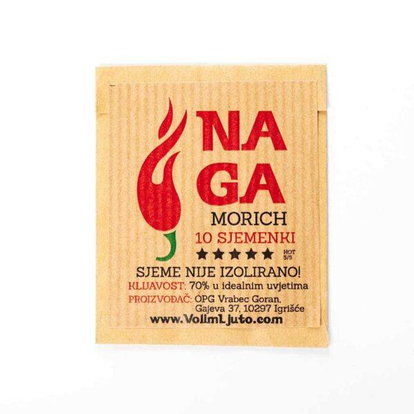 Naga Morich - Sjemenke chili papričica 4