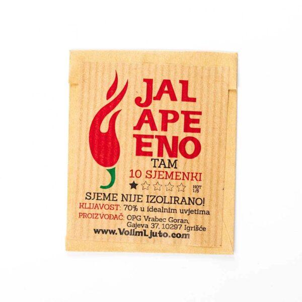 Jalapeno TAM - Sjemenke chili papričica 2