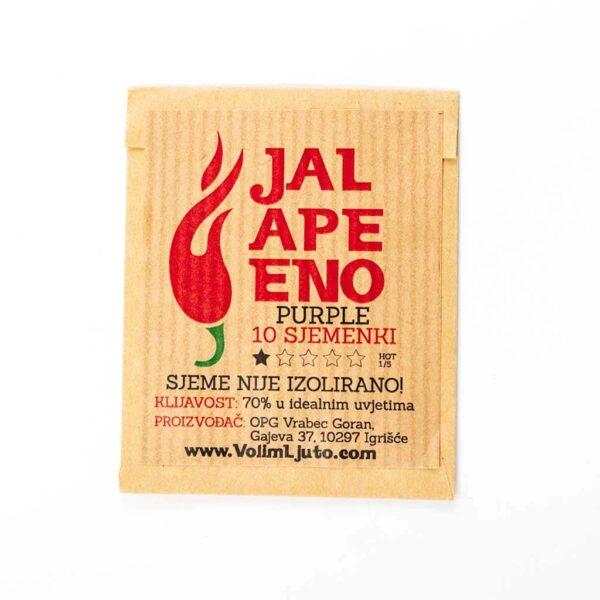 Jalapeno Purple - Sjemenke chili papričica 4