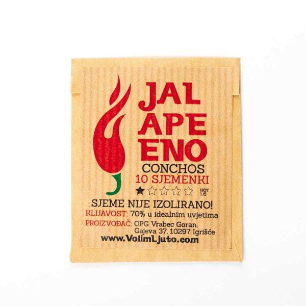 Jalapeno Conchos - Sjemenke chili papričica 4