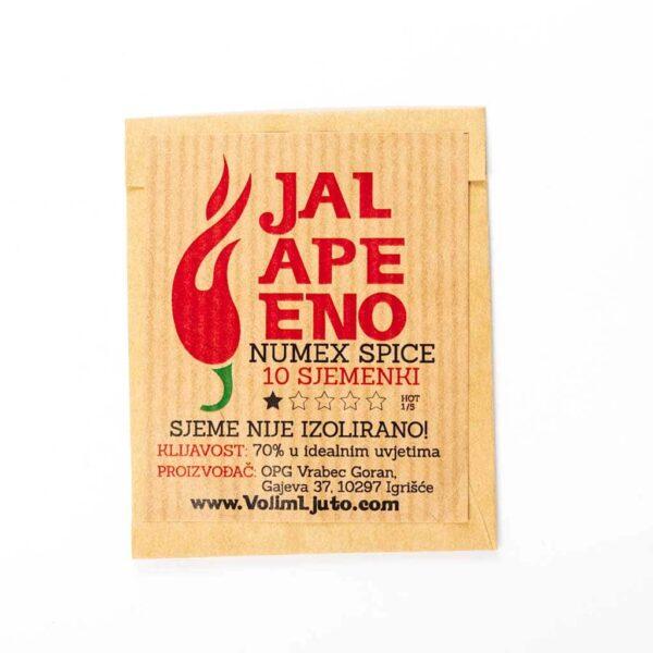 Jalapeno Numex Lemon Spice - Sjemenke chili papričica 4