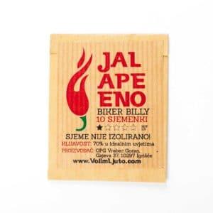 Jalapeno Biker Billy - Sjemenke chili papričica 7
