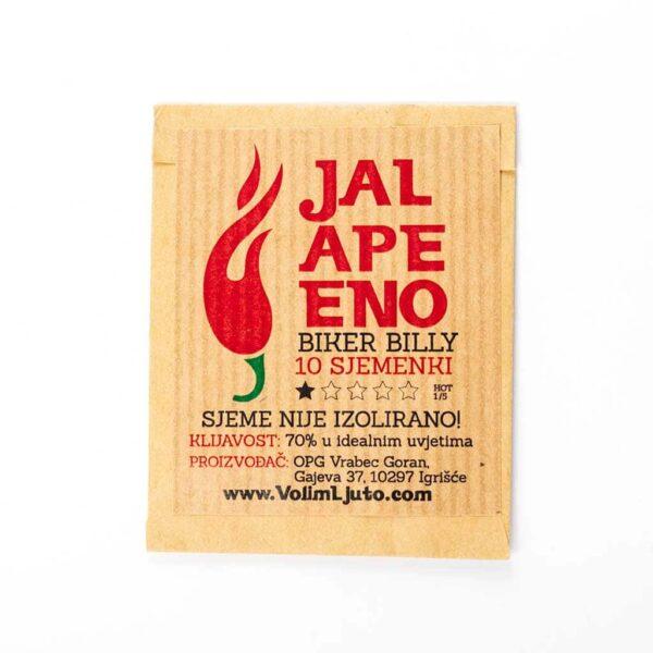 Jalapeno Biker Billy - Sjemenke chili papričica 5