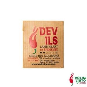 Devil's Lamb Heart - Sjemenke chili papričica 9