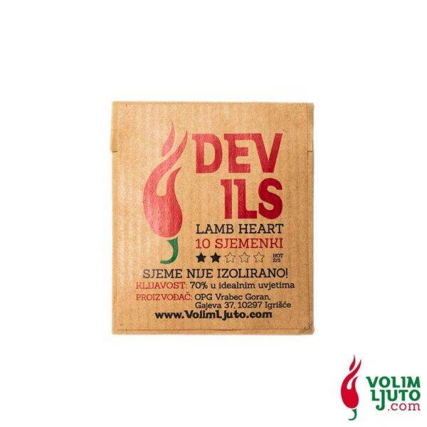 Devil's Lamb Heart - Sjemenke chili papričica 6