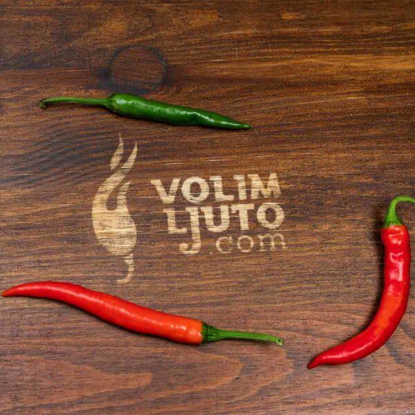 Khorika Jolokia - Sjemenke chili papričica 3
