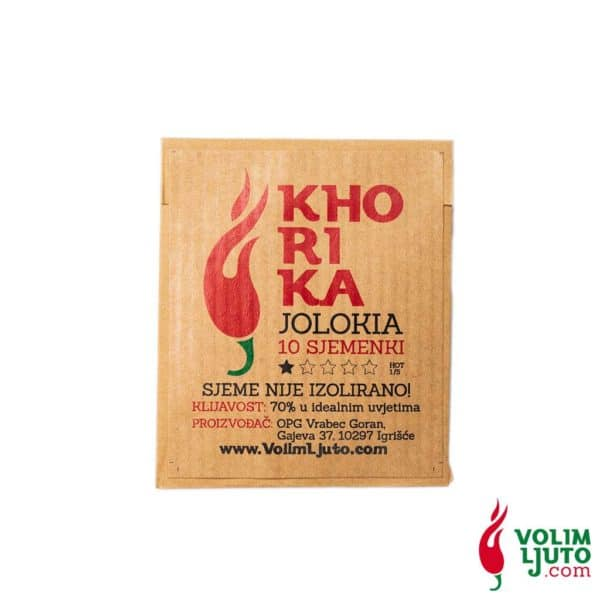 Khorika Jolokia - Sjemenke chili papričica 5