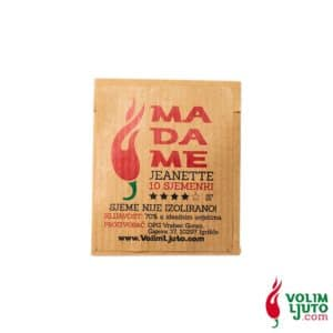 Madame Jeanette - Sjemenke chili papričica 7