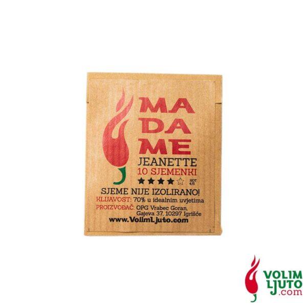 Madame Jeanette - Sjemenke chili papričica 5