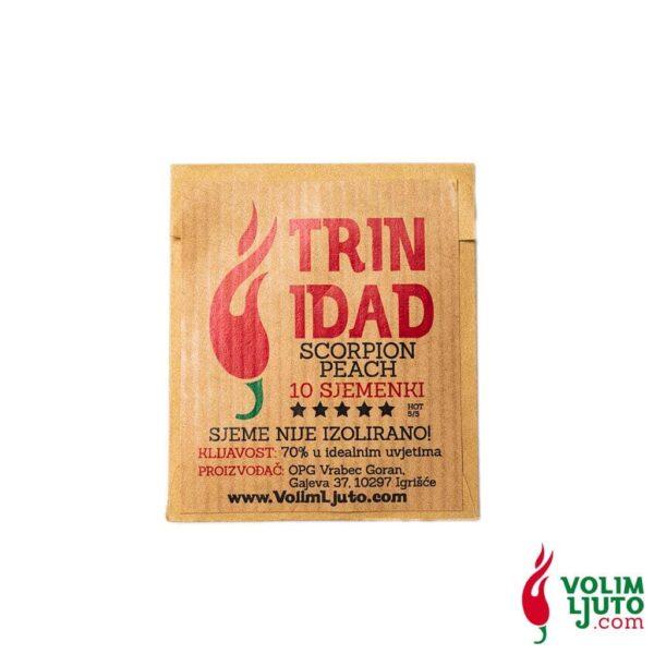 Trinidad Scorpion Peach - Sjemenke chili papričica 5
