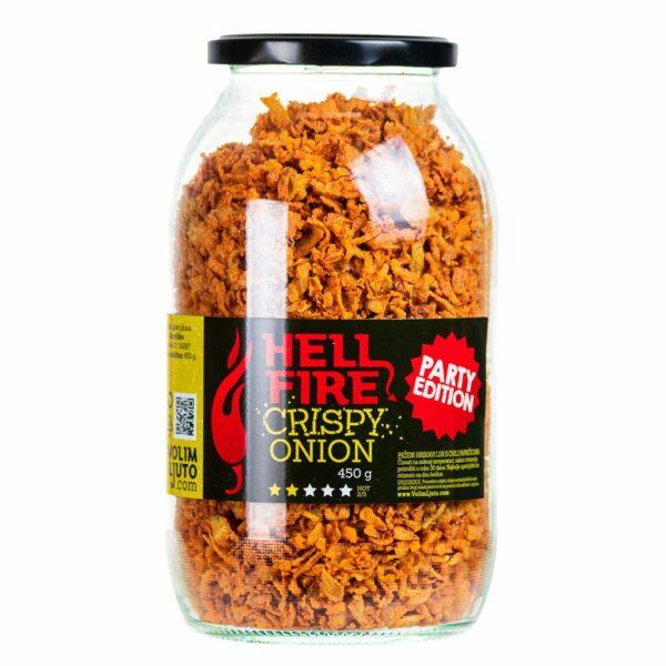 Hellfire Crispy Onion prženi luk Party Edition 450g 3