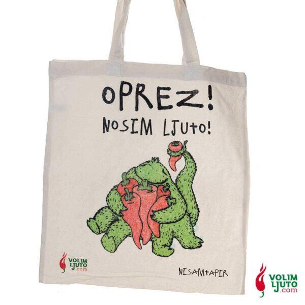 Nosim Ljuto torba za kupovinu 2