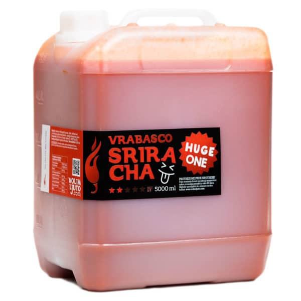 Vrabasco Sriracha Huge One ljuti umak 5000ml 3