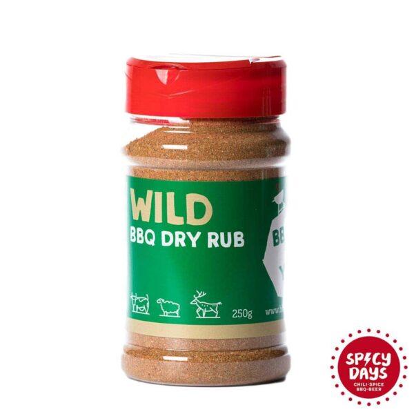 Wild BBQ Dry rub mješavina začina za roštilj 250g 3