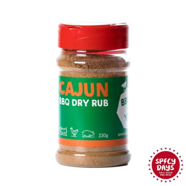 Cajun BBQ Dry rub mješavina začina za roštilj 230g 2