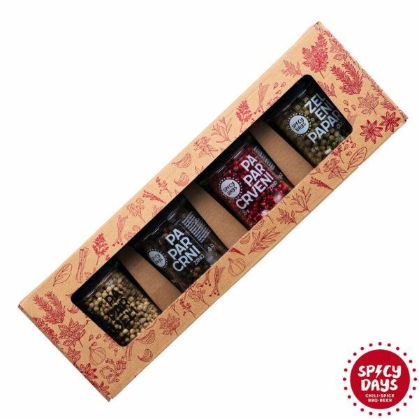 Četiri vrste papra - poklon paket 3